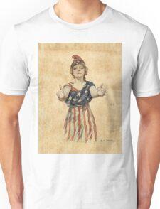 Inviting Patriotism Unisex T-Shirt