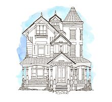 Victorian House Photographic Print