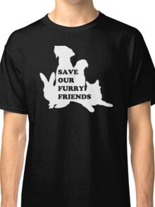 Save Our Furry Friends Classic T-Shirt