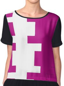 Missing Pieces Chiffon Top