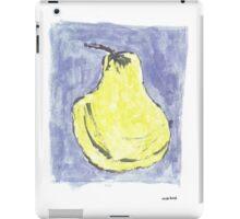 Pêra amarela iPad Case/Skin