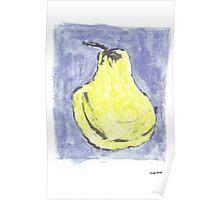 Pêra amarela Poster
