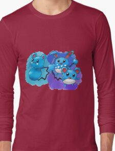 Azurill, Marill & Azumarill Long Sleeve T-Shirt