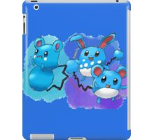 Azurill, Marill & Azumarill iPad Case/Skin