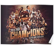 Cleveland cavaliers Champ's Poster