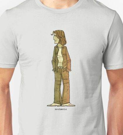 Two-Lane Blacktop: Mechanic Unisex T-Shirt