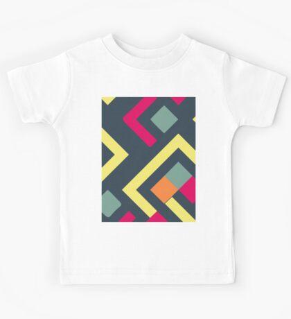 graphic pattern Kids Tee