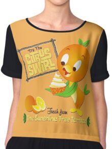 Florida Orange Bird - Disney World Chiffon Top