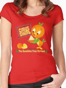 Florida Orange Bird - Disney World Women's Fitted Scoop T-Shirt