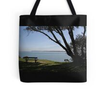 Sea View Over The Solent Tote Bag