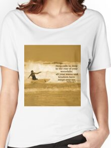 Waves and Breakers Women's Relaxed Fit T-Shirt