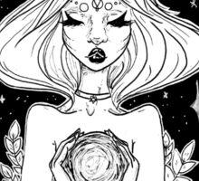 II The High Priestess Tarot Card Design  Sticker