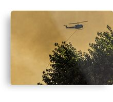 Firefighters in the Sky Metal Print