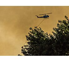 Firefighters in the Sky Photographic Print