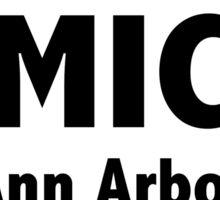 UMICH Ann Arbor Sticker