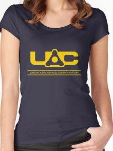 UAC - Doom Yellow Women's Fitted Scoop T-Shirt