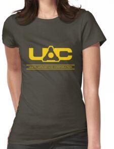UAC - Doom Yellow Womens Fitted T-Shirt
