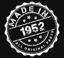 MADE IN 1952 ALL ORIGINAL PARTS by smrdesign