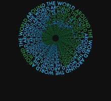 Around the World - Blue, Green Unisex T-Shirt