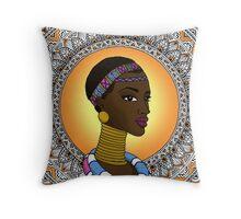 Black Girl Magic - Ndebele Throw Pillow