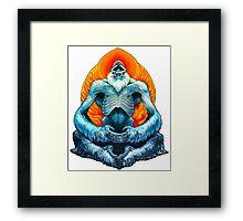 psychic yeti Framed Print