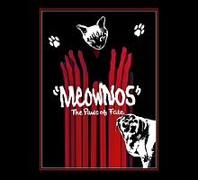 """Meownos"" The Paws of Fate iPad Case by Margaret Bryant"