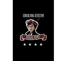 Consulting detective Sherlock Holmes Photographic Print