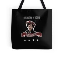 Consulting detective Sherlock Holmes Tote Bag