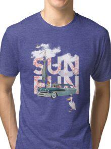 Sun Fun Tri-blend T-Shirt