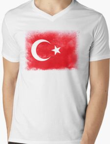 turkey Mens V-Neck T-Shirt