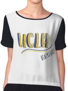 UCLA Chiffon Top