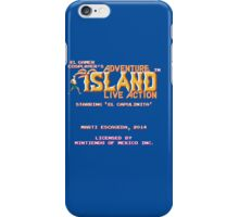 Adventure Island - Live Action iPhone Case/Skin