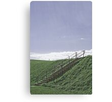 Up the Hill into the Sky Canvas Print