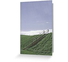 Up the Hill into the Sky Greeting Card