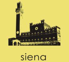 Siena - Minimalist T-Shirt (light colors only) Kids Clothes