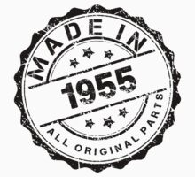 MADE IN 1955 ALL ORIGINAL PARTS by smrdesign