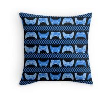 Love for Gaming - Blue Throw Pillow