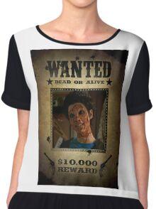 Buffy Kathy Wanted Chiffon Top