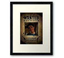 Buffy Kathy Wanted Framed Print