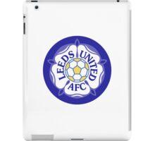Leeds United Retro Badge iPad Case/Skin