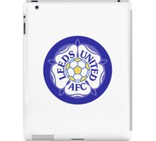 Leeds United Retro Badge iPad Case/Skin