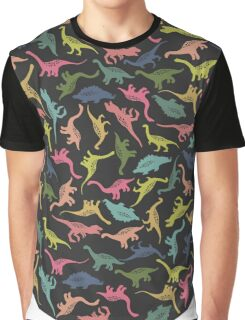 Silhouettes of dinosaurs Graphic T-Shirt