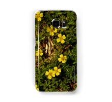 Tormentil in Shalwy Valley Samsung Galaxy Case/Skin