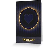 Pluto - The Heart Greeting Card