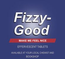 Fizzy Good - Black books by icedtees