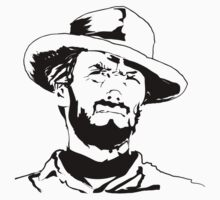 Clint Eastwood by icedtees