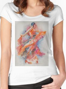Allure of the Flamenco Women's Fitted Scoop T-Shirt