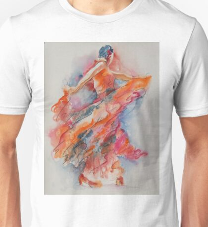Allure of the Flamenco Unisex T-Shirt