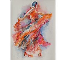 Allure of the Flamenco Photographic Print