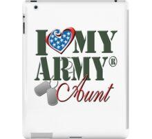I Love My Army Aunt iPad Case/Skin